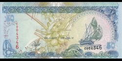 Maldives - p21a - 50 Rufiyaa - 2000 - Maldives Monetary Authority