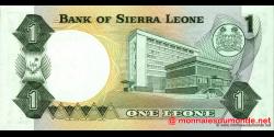 Sierra - Leone - p05e - 1 Leone - 04.08.1984 - Bank of Sierra Leone