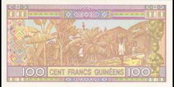 Guinée - pA47 - 100 francs - 2015 - Banque Centrale de la République de Guinée