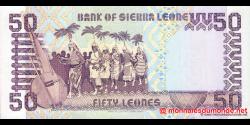 Sierra - Leone - p17b - 50 Leones - 27.04.1989 - Bank of Sierra Leone
