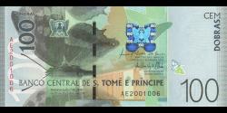 São Tomé-et-Príncipe - p74a - 100 Dobras - 2016 - Banco Central de S. Tomé e Príncipe
