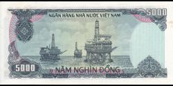 Viêt Nam - p104 - 5 000Ðồng - 1987 - Ngân Hàng Nhà Nu'ớc Việt Nam (State Bank of Viêt Nam)