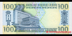 Sierra - Leone - p18c - 100 Leones - 26.09.1990 - Bank of Sierra Leone