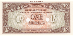 British - Armed - Forces - pM32b - 1 shilling - ND (1962) - British Armed Forces / Army Council