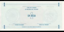 Cuba - pFX11 - 1Peso - ND - Banco Nacional de Cuba