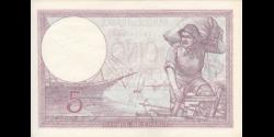 France - p072e - 5 Francs - 1.6.1933 - Banque de France