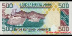 Sierra - Leone - p23c - 500 Leones - 01.03.2003 - Bank of Sierra Leone