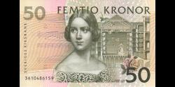 Suède - p62b - 50Kronor - 2003 - Sveriges Riksbank