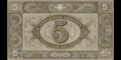 Suisse - p11j3 - 5 Franken / Francs / Franchi - 1942