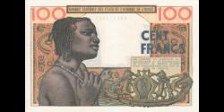 Etats de l'Afrique de l'Ouest - p02b - 100 francs - ND (1962) - Banque Centrale des Etats de l'Afrique de l'Ouest