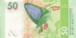 Hong Kong - p303- 50 Dollars - 01.01.2018 - Standard Chartered Bank