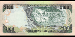 Jamaïque - p95c - 100 Dollars - 01.06.2016 - Bank of Jamaica