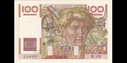 France - p128a - 100 Francs - 21.11.1946 - Banque de France