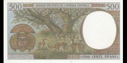 Congo - RP - p101Cg - 500 francs - 2000 - Banque des États de l'Afrique Centrale