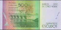 Cap - Vert - p72 - 500 Escudos - 5.07.2014 - Banco de Cabo Verde