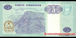 angola - p144a - 5 kwanzas - 10.1999 - Banco Nacional de Angola