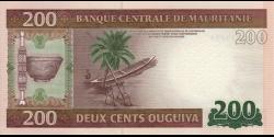 Mauritanie - p17 - 200 Ouguiya - 28.11.2013 - Banque Centrale de Mauritanie