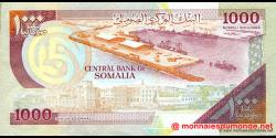 Somalie - p37a - 1.000 Shilin Soomaali - 1990 - Bankiga Dhexe ee Soomaaliya / Central Bank of Somalia