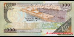 Somalie - p37b - 1.000 Shilin Soomaali - 1996 - Bankiga Dhexe ee Soomaaliya / Central Bank of Somalia