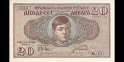 Yougoslavie - p029 - 1 000 Dinara - 01.12.1929 - Narodna Banka Kraljevine Jugoslavije