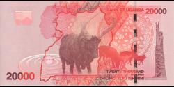 Ouganda - p53e - 20.000 Shillings - 2019 - Bank of Uganda