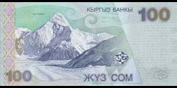Kirghizistan - p21 - 100Som - 2002 - Kyrgyz Banky