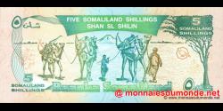 Somaliland - p01 - 5 SL Shilin - 1994 - Baanka Somaliland
