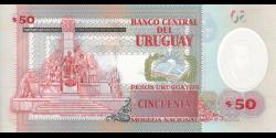 Uruguay - p102 - 50 Pesos Uruguayos - 2020 - Banco Central del Uruguay