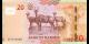 Namibie - p17b - 20 dollars - 2018 - Bank of Namibia