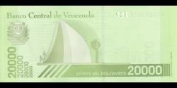 Venezuela - p110b - 20.000 Bolívares soberano - 22.01.2019 - Banco Central de Venezuela