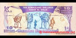 Somaliland - p02b - 10 SL Shilin - 1996 - Baanka Somaliland