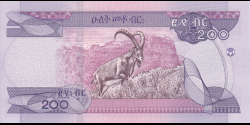 Éthiopie - p56a - 200 birr - 2020 - National Bank of Ethiopia