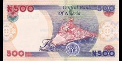 Nigeria - p30t - 500 Naira - 2020 - Central Bank of Nigeria
