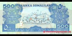 Somaliland - p06g - 500 SL Shilin - 2008 - Baanka Somaliland