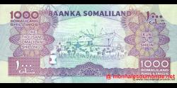 Somaliland - p20a - 1.000 SL Shilin - 2011 - Baanka Somaliland