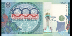 Kazakhstan - p35 - 1.000Tenge - 2010 - Kazakstan Ülttyk Banki