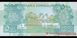 Somaliland - p21 - 5.000 SL Shilin - 2011 - Baanka Somaliland