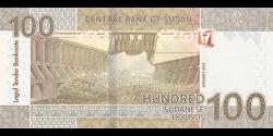Soudan - p77 - 100 Pounds - 1-2019 - Central Bank of Sudan