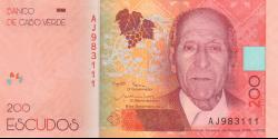 Cap - Vert - p76 - 200 Escudos - 6.9.2019 - Banco de Cabo Verde
