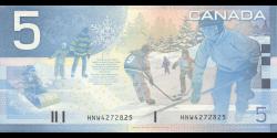 Canada - p101c - 5 Dollars - 2004 - Bank of Canada / Banque du Canada