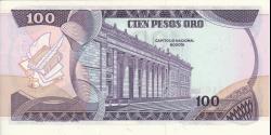 Colombie - p418c - 100 Pesos oro - 01.01.1980 - Banco de la República