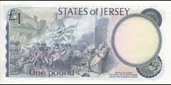 Jersey - p11b - 1 Pound - ND (1976 - 1988) - Treasury of the States of Jersey