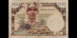France - pM11 - 100 francs - ND (1955) - Trésor Public