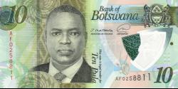 Botswana - p36 - 10 Pula - 2020 - Bank of Botswana / Banka ya Botswana