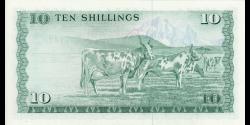 Kenya - p12c - 10 shilingi - 01.07.1977 - Banki Kuu ya Kenya / Central Bank of Kenya