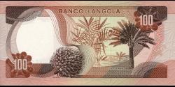 angola - p101 - 100 escudos - 24.11.1972 - Banco de Angola