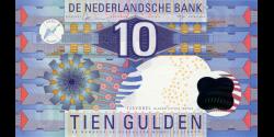 Pays-Bas - p99 - 10Gulden - 1987 - Nederlandsche Bank