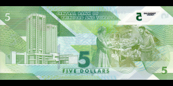Trinidad et Tobago - p61 - 5 Dollars - 2020 - Central Bank of Trinidad and Tobago