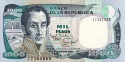 Colombie - p438e - 1.000 Pesos - 2.10.1995 - Banco de la República