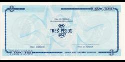 Cuba - pFX20 - 3Pesos - 1985 - Banco Nacional de Cuba